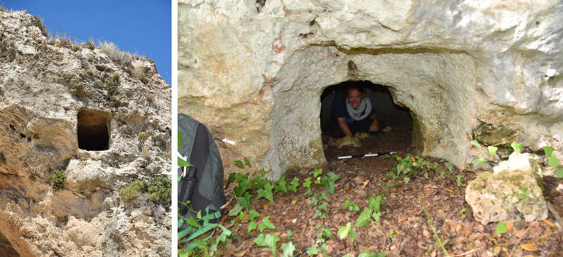 Kubba rock cut tombs